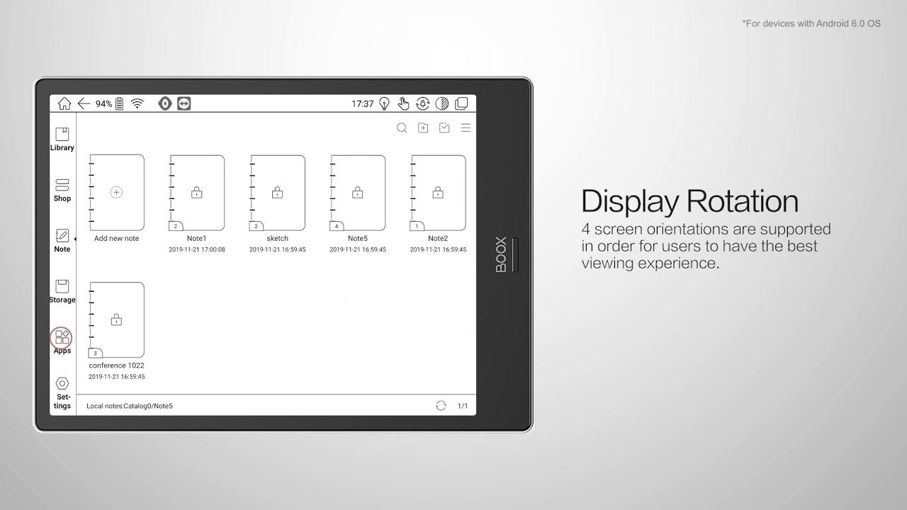 Firmware 2.2.1 Update -- Display Rotation