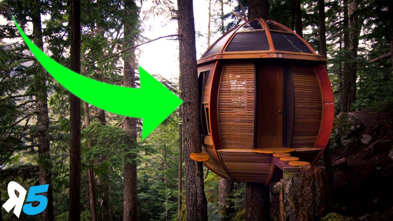 6 INSANE Treehouses You wont Believe Exist | Random 5