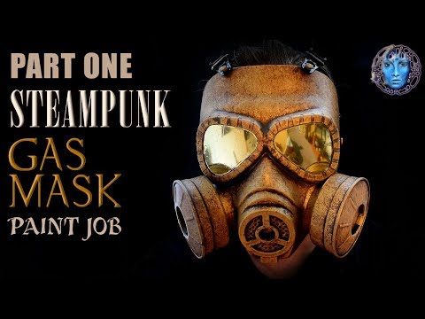 Part One | Steampunk Gas Mask | Paint Job