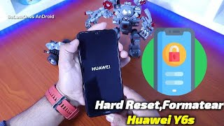 Hard Reset Huawei Y6s | Pattern Unlock HUAWEI Y6s