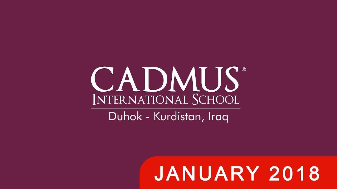 Download Cadmus international school DUHOK   Construction January 2018   DRONE TOUR - Dara Company