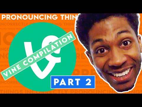 EVERY PRONOUNCING THINGS INCORRECTLY VINE | Chaz Smith Vine Compilation