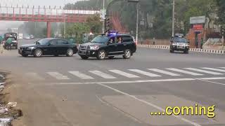 Police active when prime minister come n security in Bangladesh