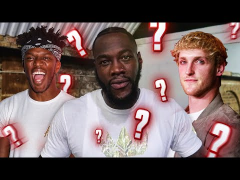 DEONTAY WILDER PREDICTS KSI TO WIN LOGAN PAUL REMATCH!