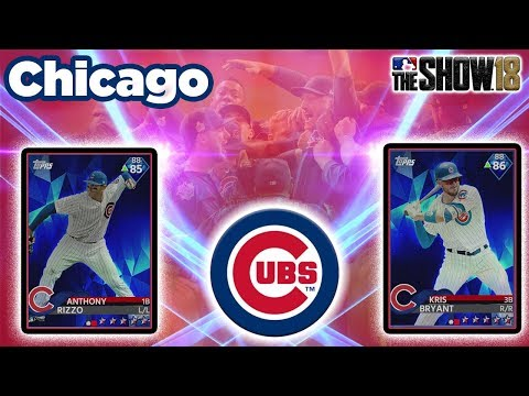 CAN RIZZO, BRYANT, AND THE CUBS LEAD US TO WORLD SERIES? |MLB The Show 18 Diamond Dynasty| SBC
