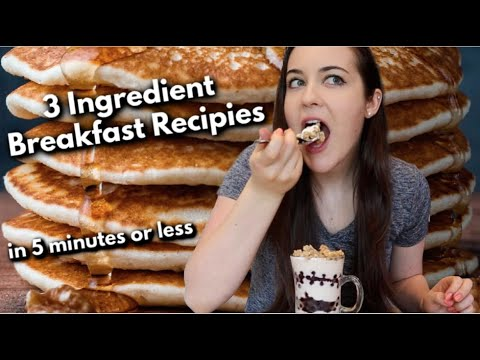 Download 3-Ingredient Healthy Breakfast Recipes You Can Make in 5 Minutes or Less
