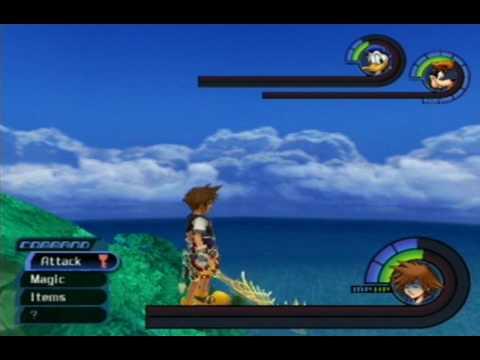 Kingdom Hearts - Secret Menu, Bahamut And A Bug