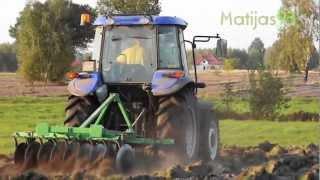 Wiosna 2012 - Rekultywacja łąki i uprawa gleby [New Holland TD5010]