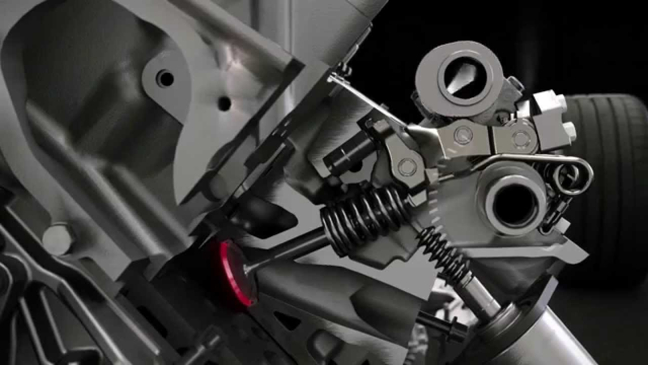 Bmw X6 M Animation Motor Youtube