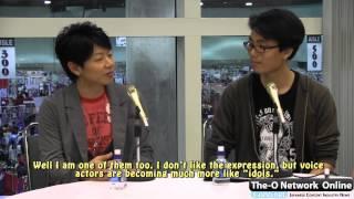 (t-ono.net) Daisuke Kishio Interview @ Anime Expo 2012