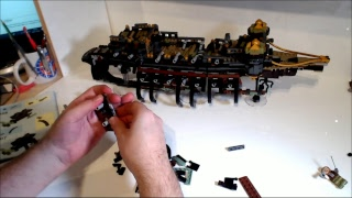Lepin - 16042 - Pirates of the Cramarye - Stream Build Teil 1 (Deutsch / HD)
