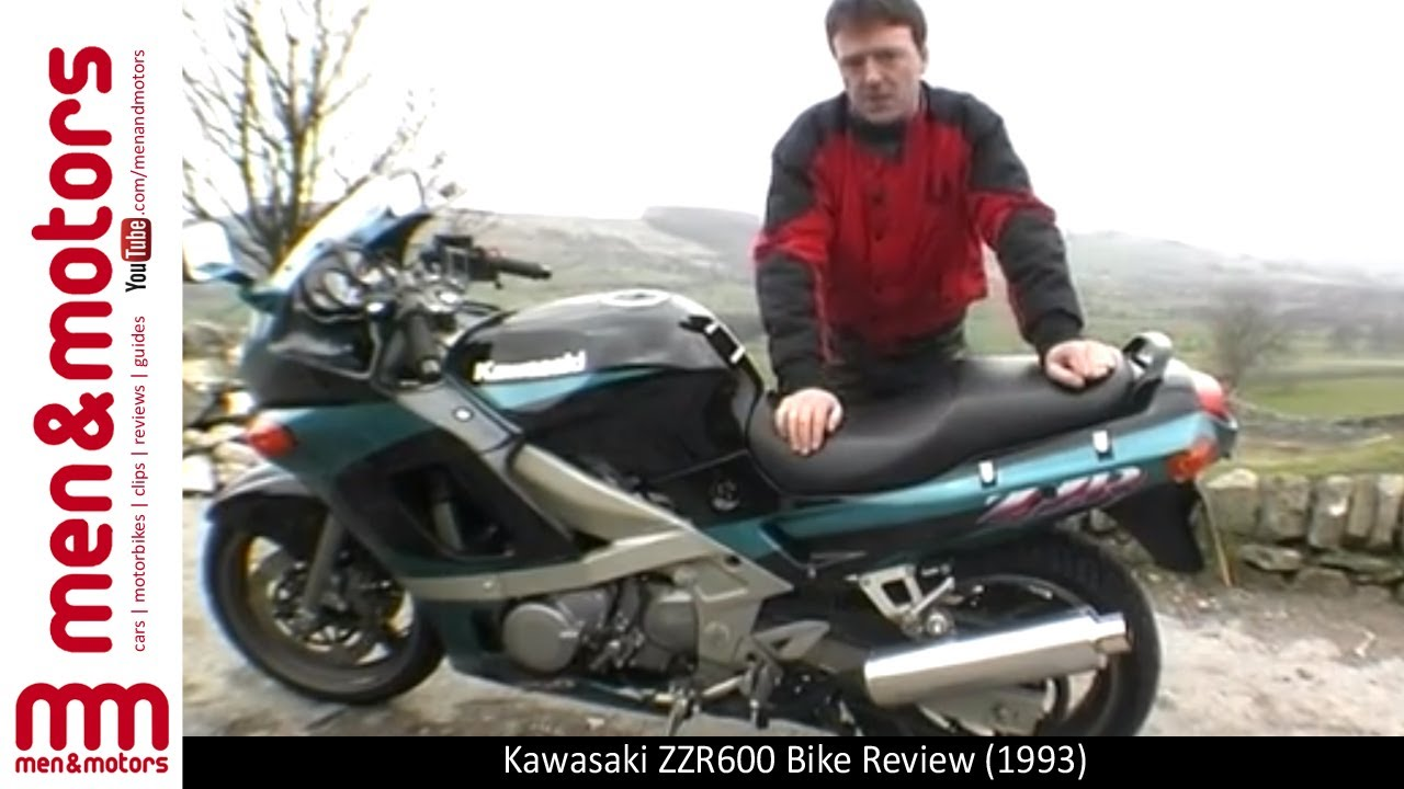 1993 Kawasaki ZZR600 Review