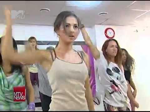 Нюша готовится к Big Love Show 2012