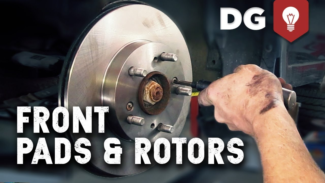 What Should A Brake Pad Rotor Replacement Cost Youtube Caption Diagram Of The Basic Front Disc Setup Arotor B