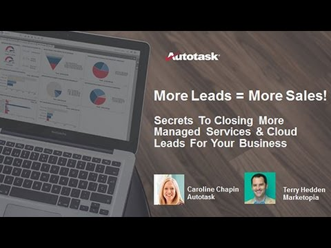 Secrets to Driving More Managed Services Leads to Your Business