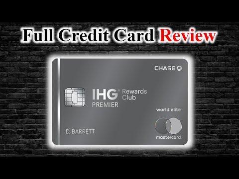 Credit Card Review | IHG Rewards Club Premier Credit Card