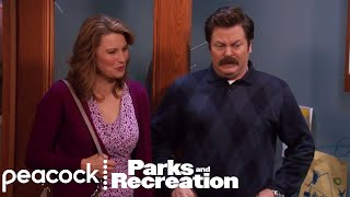 Ron Swanson Tells Diane He Loves Her - Parks and Recreation