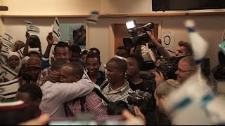 Times of Israel : 63 Ethiopian Immigrants Arrive In Israel After Years-long Wait - ከአመታት ደጅ ጥናት በኋላ