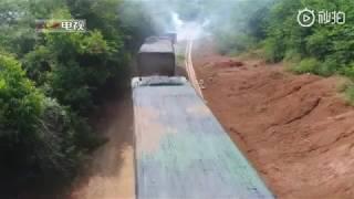 Подземную ракетную базу Китая показали на видео