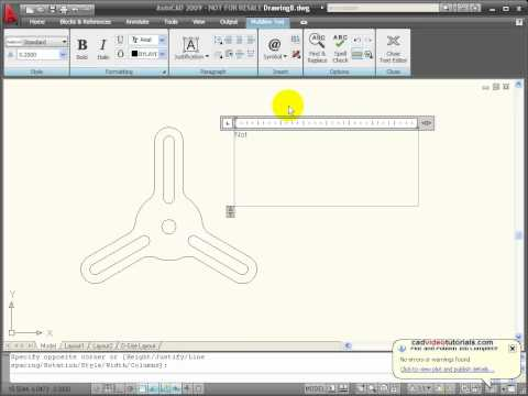AutoCAD Tutorial - Creating Text Styles