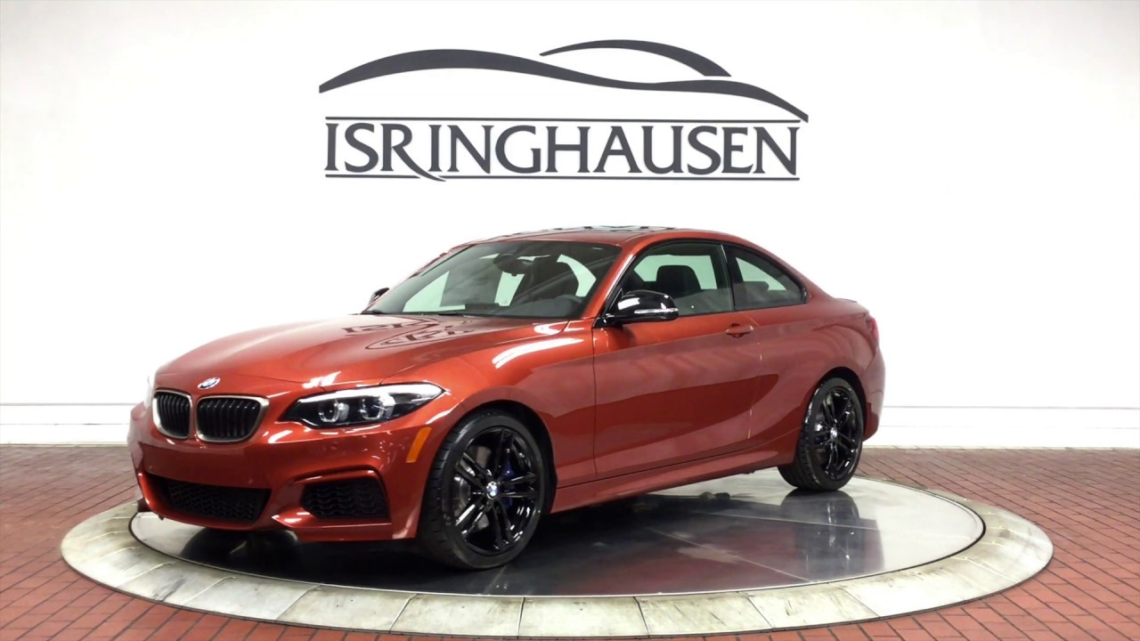 2020 Bmw 2 Series M240i 6mt In Sunset Orange Metallic 72777 Youtube