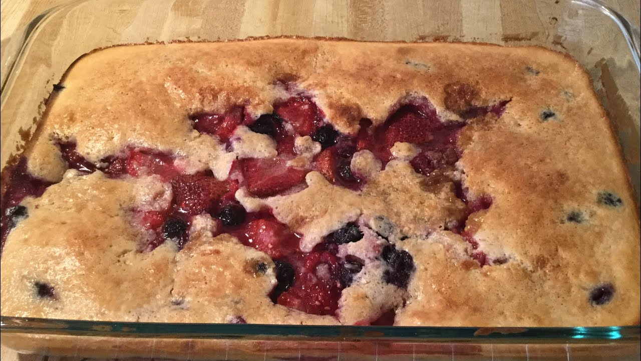 Download Episode 81: Southern Mixed Berry Cobbler 🍓