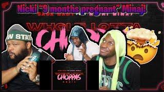 Sada Baby - Whole Lotta Choppas (Remix) (feat. Nicki Minaj) REACTION!!