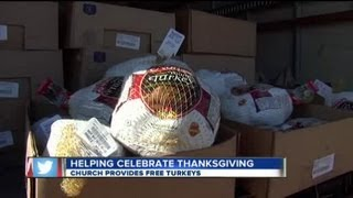 Local Church Helps Families Provide a Warm Meal This Thanksgiving