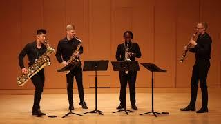 Schmitt: Quatour pour Saxophones, Op. 102, Mvt.  III