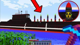 we found a Minecraft nuclear submarine on our server...