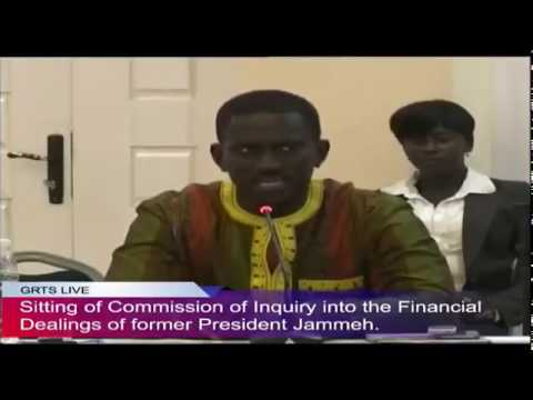 Gambia: Former SG Momodou Sabally Testifies At The Commission Of Enquiry