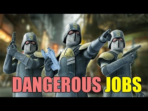 Most Dangerous Jobs in Star Wars