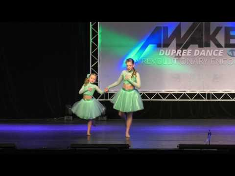 Lyrical Sisters Duet - Lean on Me, Dupree Dance Competition 2017