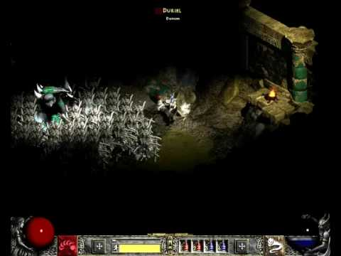 how to kill duriel diablo ii