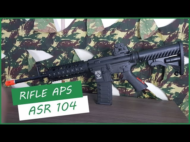 RIFLE APS ASR 104 - AIRSOFTS