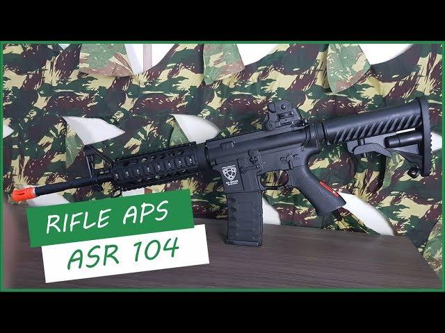 RIFLE APS ASR 104  - AIRSOFTS