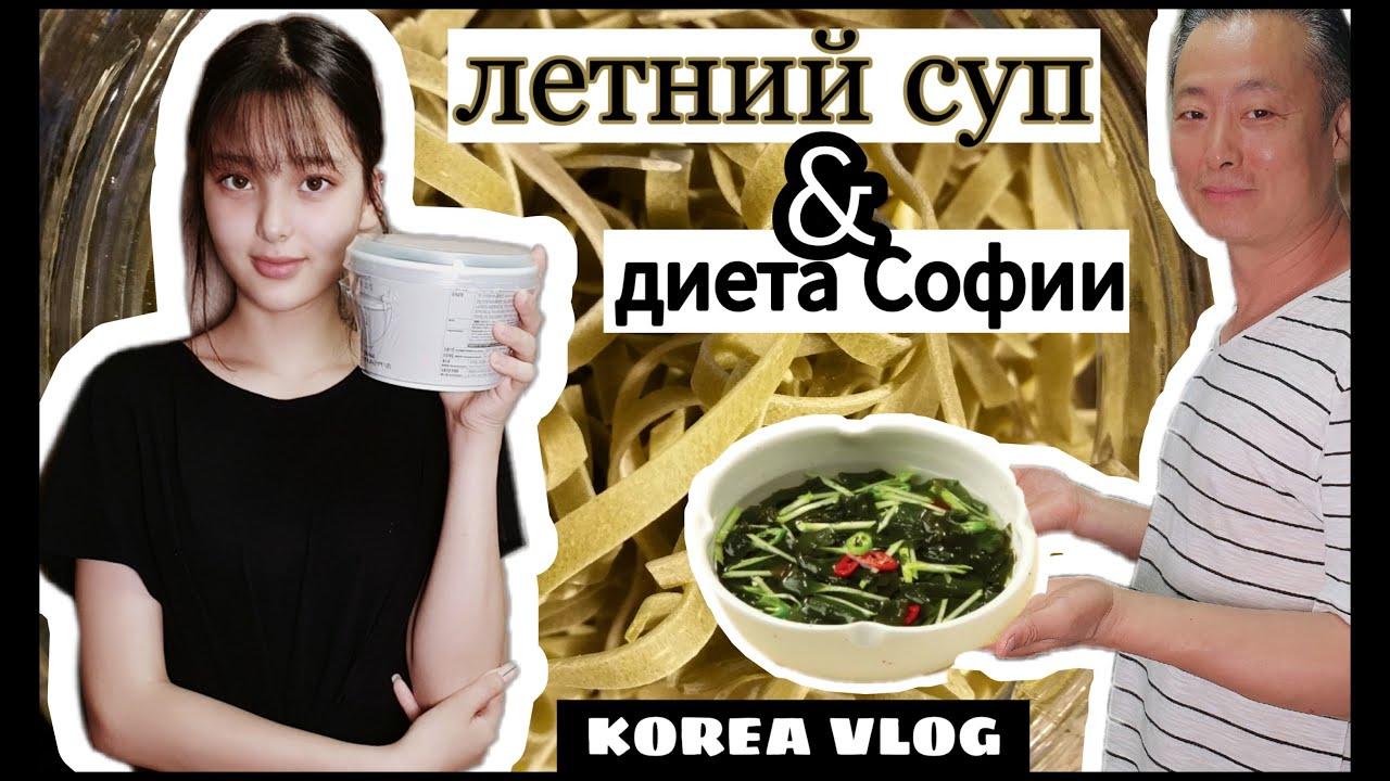 Ледяной суп от Сон Гына и диета от Софииl오이미역냉국& 소피야 다이어트lCold Cucumber Seaweed Soup&Sophia's diet