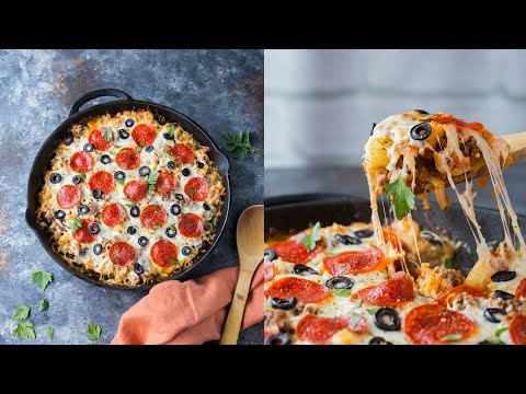The Ultimate Low Carb Pizza Casserole Recipe