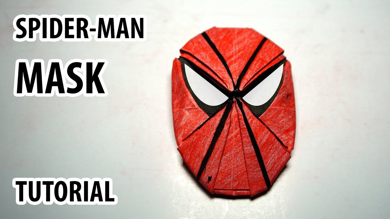 How To Make A Paper Origami Spider Man