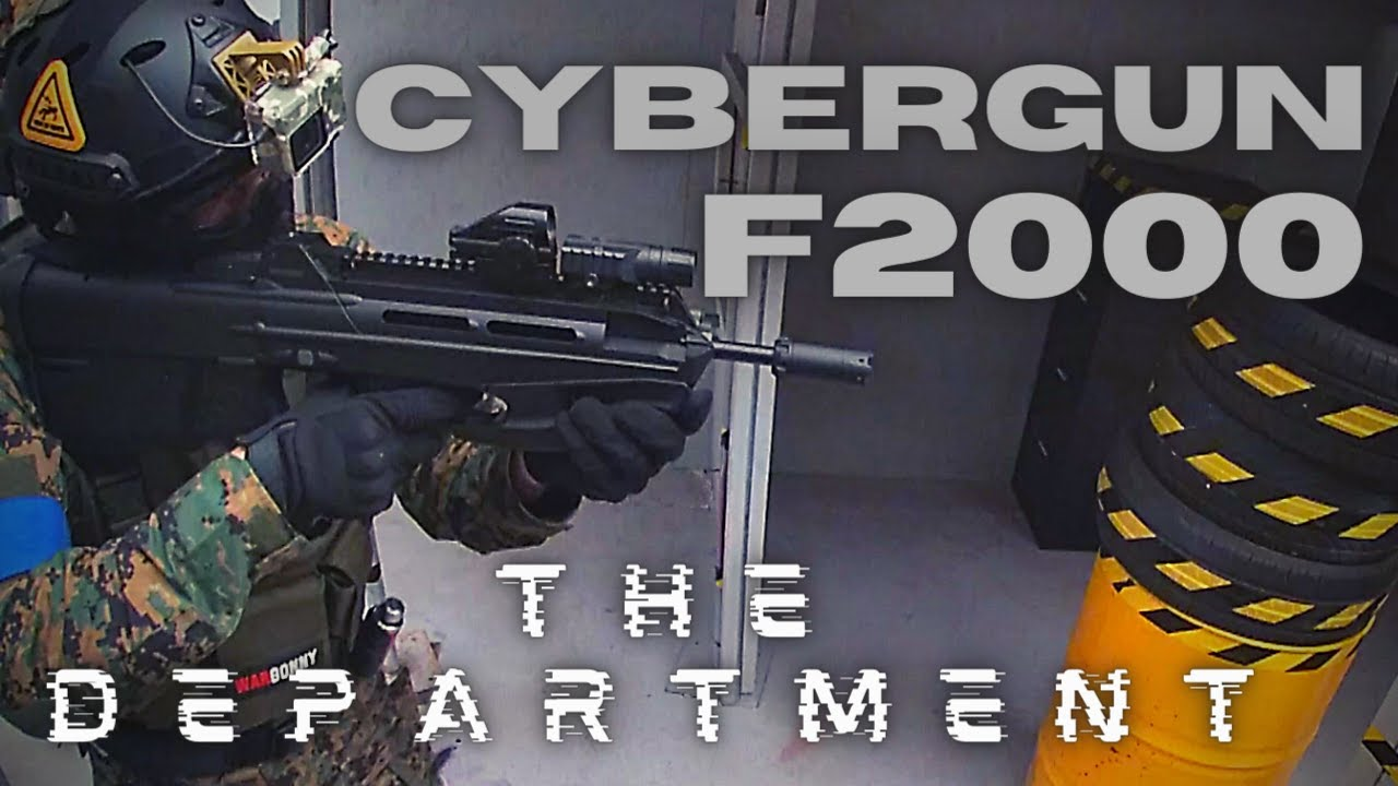 CYBERGUN F2000   Airsoft Gameplay   The Department