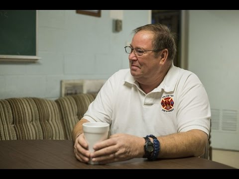 Fire chief gets a fire call in middle of news interview