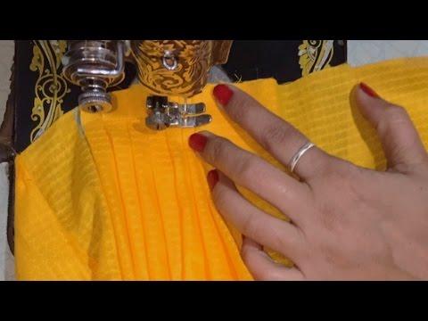 Full heavy Patiala salwar cutting and stitching