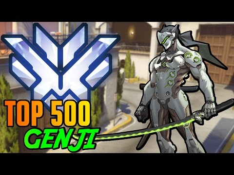 "【OW】 ""Competitive"" ★Top 500★ Genji On Hollywood 