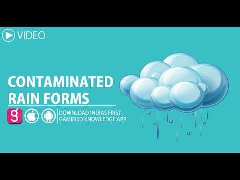 CONTAMINATED RAIN FORMS