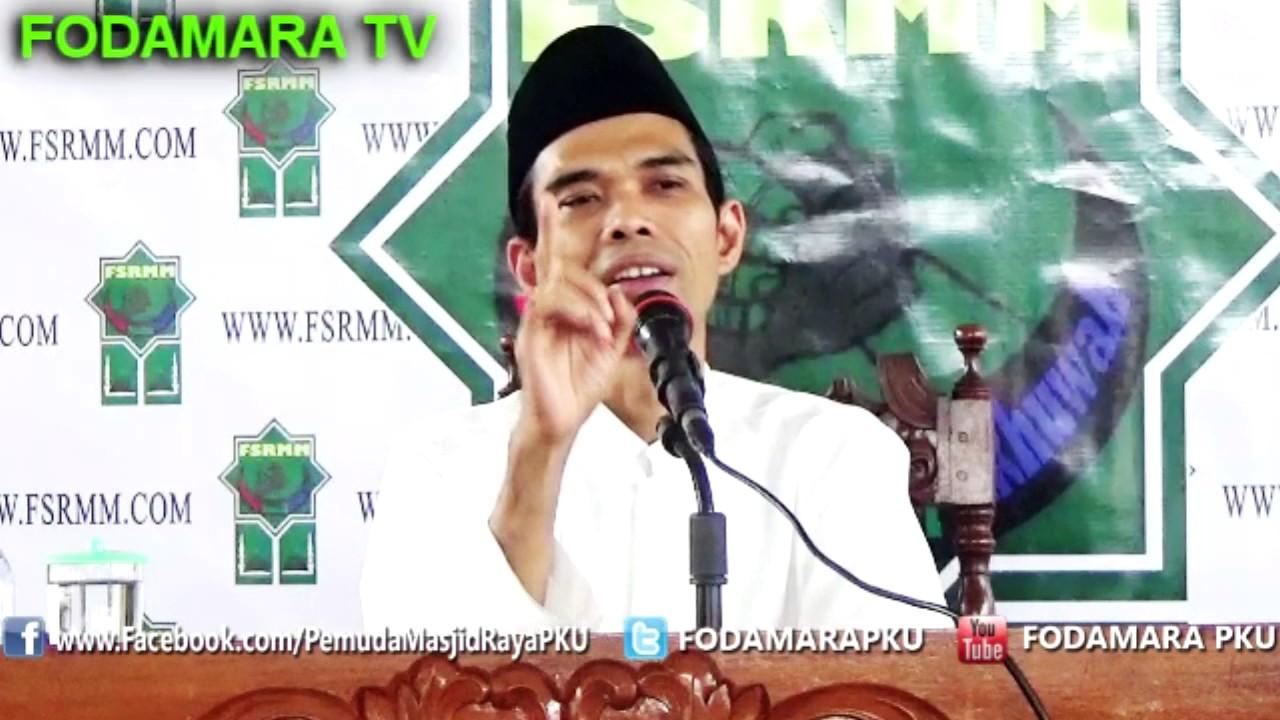 Bagaimana Cara Tahyatul yang benar - Ustadz Abdul Somad Lc ...