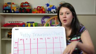 Childcare: Babies & Toddlers : Making a Potty Training Reward Chart