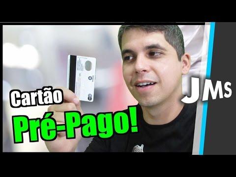 Cartão de Crédito Pré Pago como Funciona