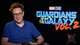 James Gunn Interview - Guardians Of The Galaxy: Vol. 2