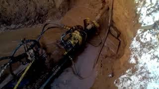 Труба в трубу. Прокол для канализации +375295123671