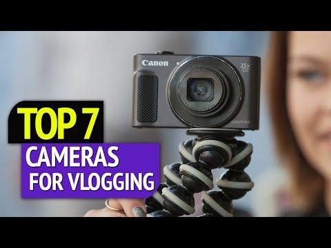 TOP 7: Best Cameras For Vlogging